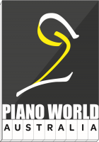 悉尼钢琴行 - 陳氏鋼琴行 Chatswood 店 Sydney Piano World Company Logo