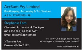 AccSum Bookkeeping, Accounting and Tax Agent Services thumbnail version
